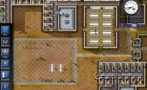 监狱建筑师规划图