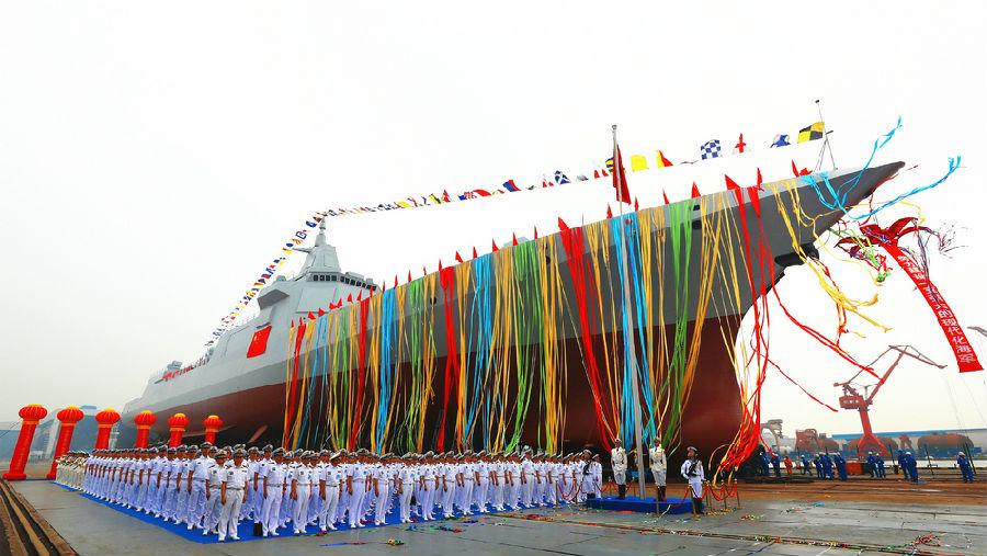 俄专家:055型驱逐舰远超俄 中国海军世界第二 - 挥斥方遒 - 挥斥方遒的博客