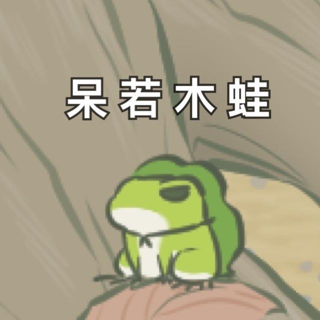 青蛙旅行搞笑表情包