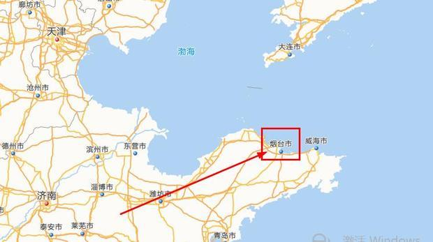 渤海地图高清版大图