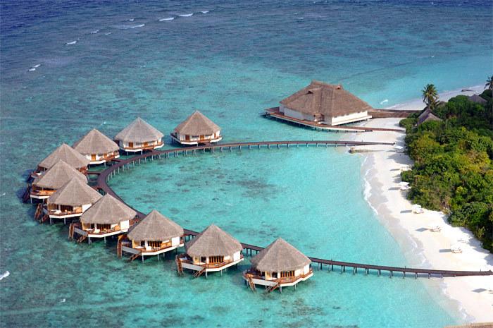 马尔代夫 白金岛