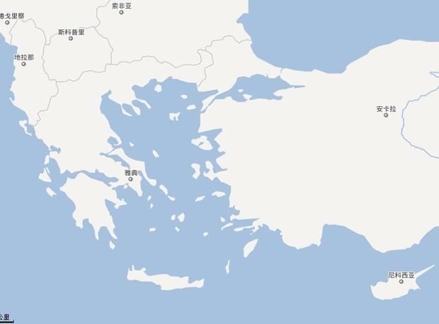克里特岛面积约8300平方公里