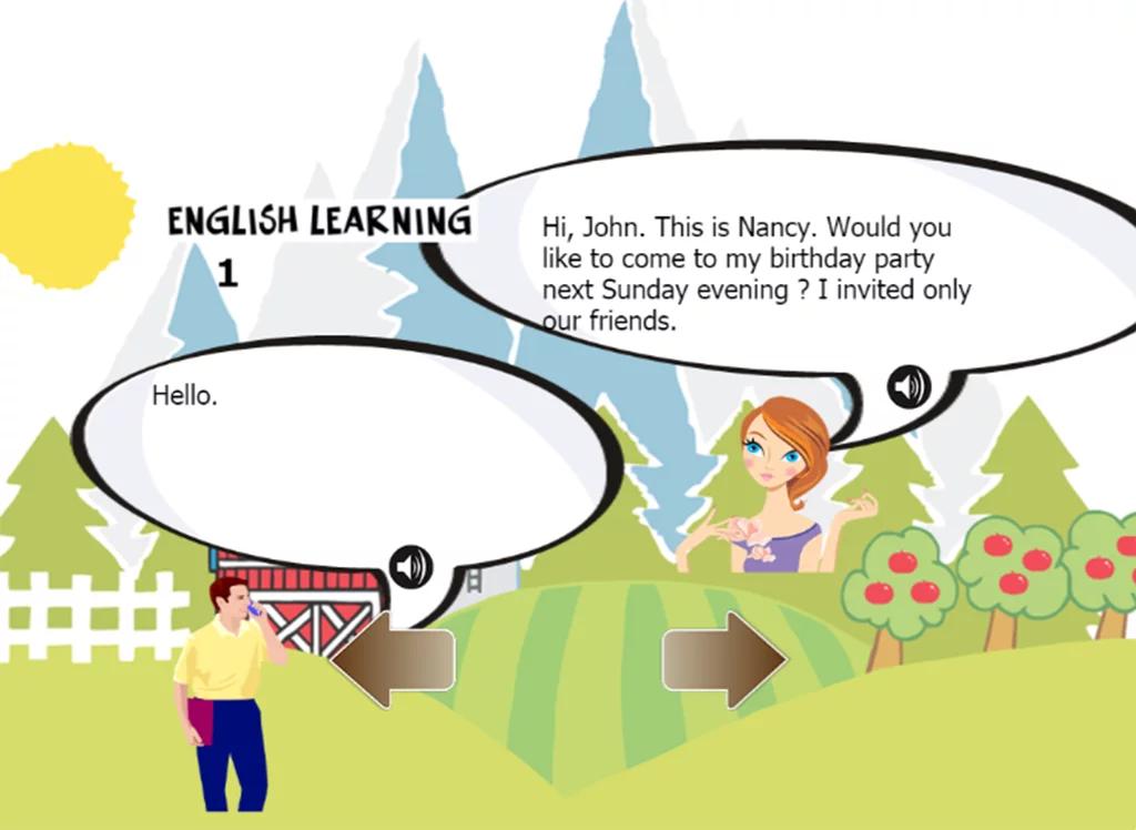 英语口语对话