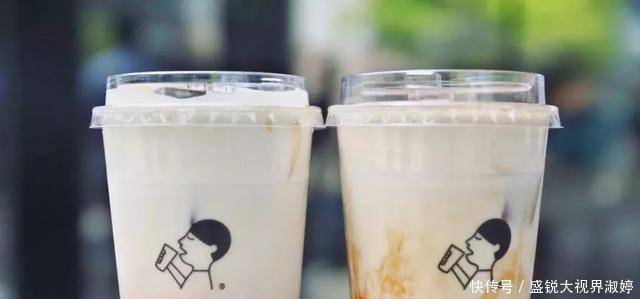 烤少儿来了,北京第1杯波波茶英语学习奶茶视频图片