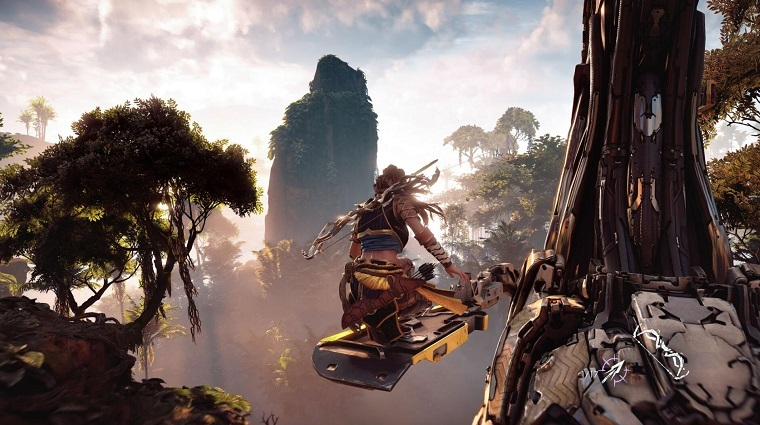 《地平线:黎明时分》游戏画面