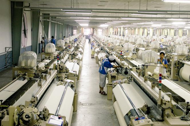 纺织机械设备电路图