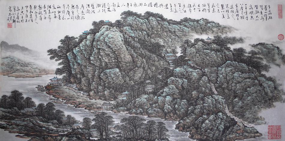 现为杭州千岛湖光明岛岛主
