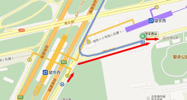 从望京西站哪个口出可以坐到兴隆的980_360问