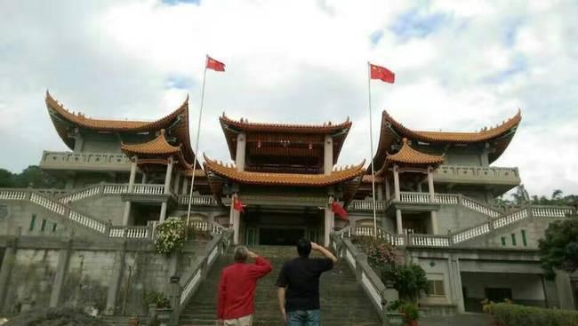 2017第一天:五星红旗在台湾多地升起 - 一统江山 - 一统江山的博客