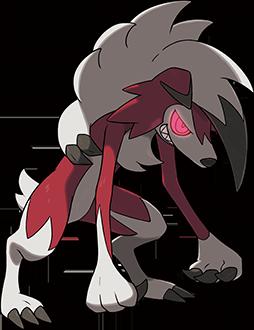 鬃岩狼人(黑夜的样子)