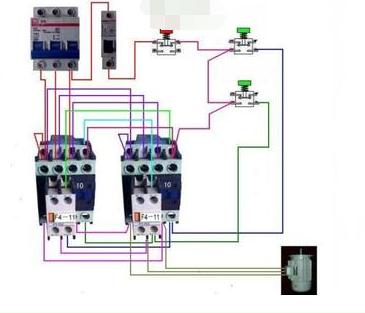 三相搅拌机电源接线图