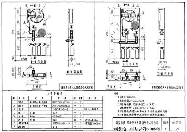 消火栓图集04s202_04s202消火栓国标图集cad版本