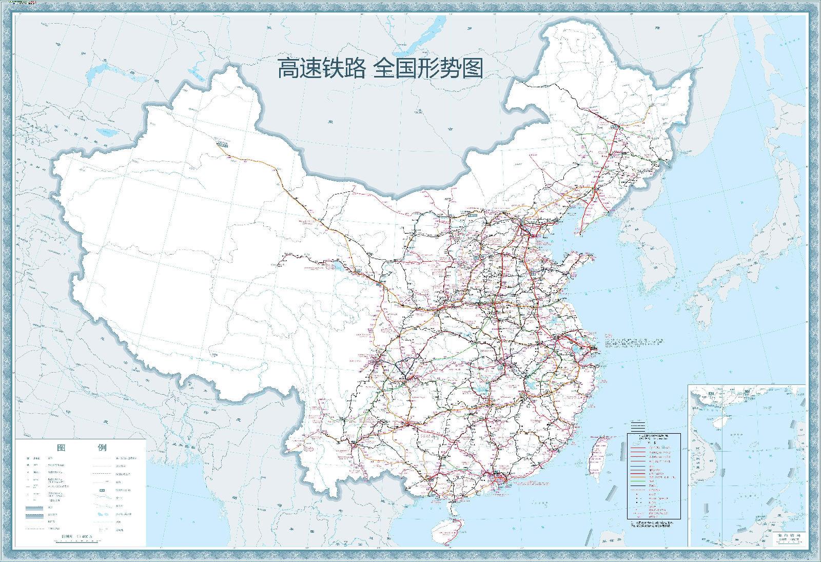 实行新的运行图后,部分普通旅客列车的旅行速度