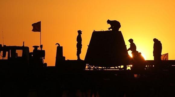 长征七号返回舱安全转运酒泉卫星发射中心