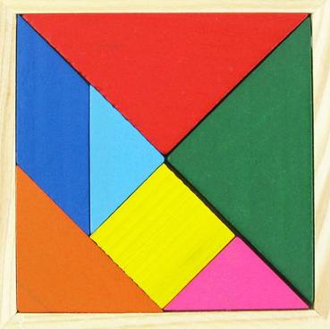 三角形怎么拼成正方形