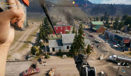 《孤岛惊魂5》E3实机演示视频