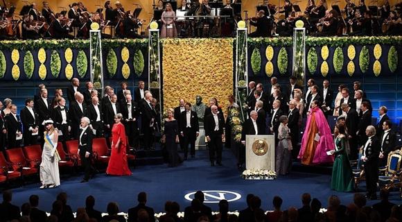 2018年度诺贝尔奖颁奖盛典举行