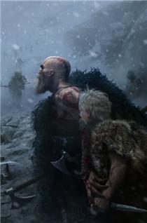 《战神4》多幅全新原画公布