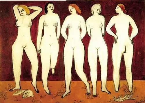 一生穷困潦倒、爱画裸女,死后长久不为所知的中国画家,如今一幅画卖出1.28亿天价