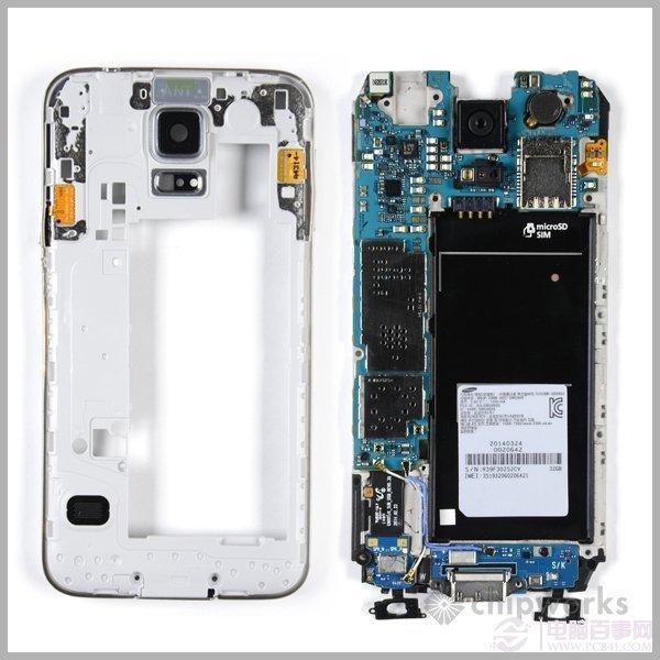三星s5拆机图解 与iphone5s指纹截然不同_36