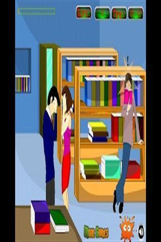 在这个游戏中你必须帮助亲吻爱人男孩吻他的情人女孩