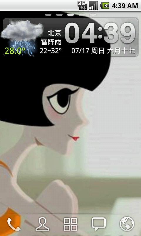 泡芙小姐时尚壁纸_360手机助手