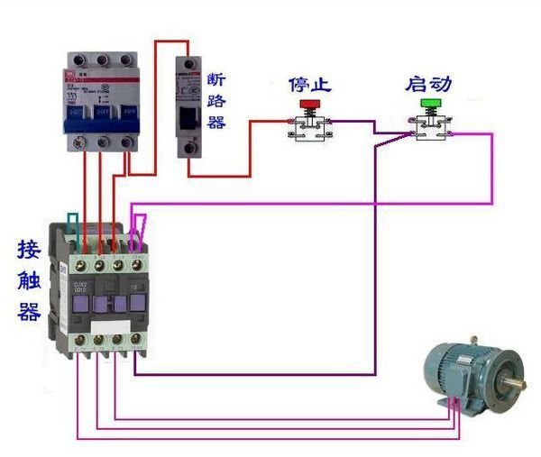 cjt1-20交流接触器怎么接线_360问答