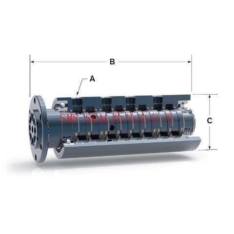 液压上的旋转接头什么结构