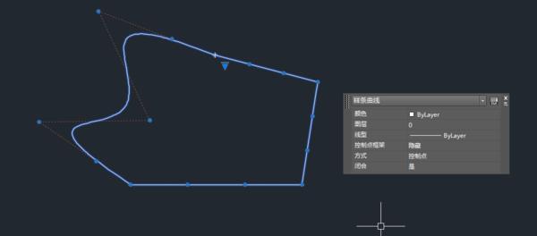 CAD中多段线和样条曲线标注_360问答cad自由合并图片