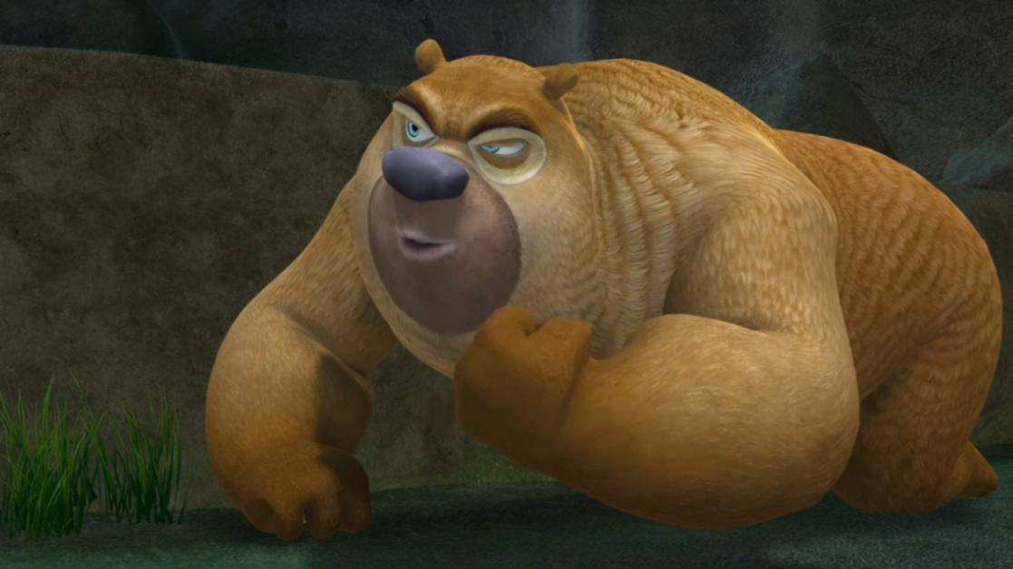 光头强抢走熊二的呆呆熊,熊二要救回自己的好朋友!