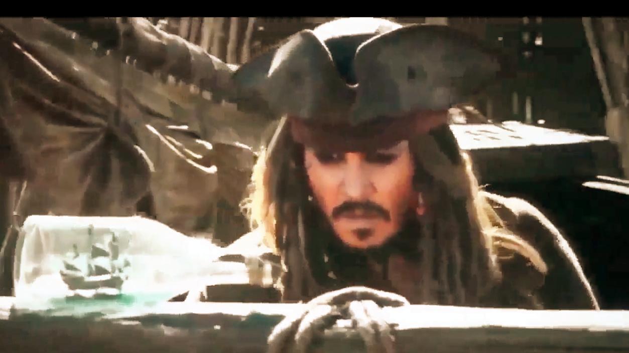 加勒比海盗5:死无对证,杰克被抛弃