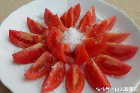西红柿+白糖不仅吃着爽口,敷面还消除雀斑吴秀波荷兰豆的v白糖图片