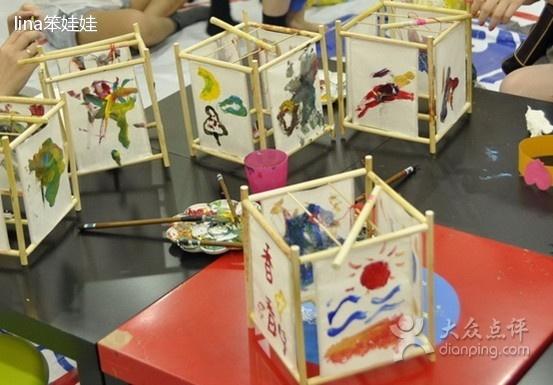 幼儿园手工灯笼做法