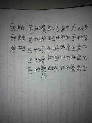 元素周期表初中常用的那个元素汉字的名称拼音