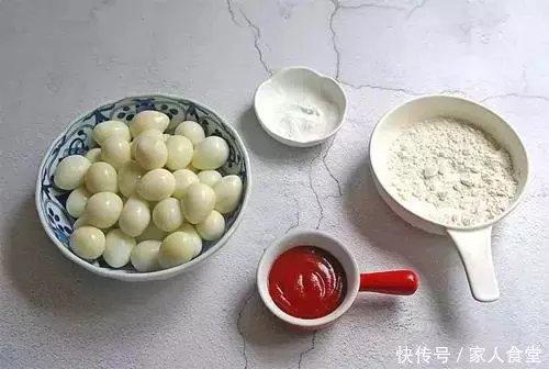 番茄和鹌鹑蛋完美搭配,简单的翻炒竟然这样好吃,一次一盘不够