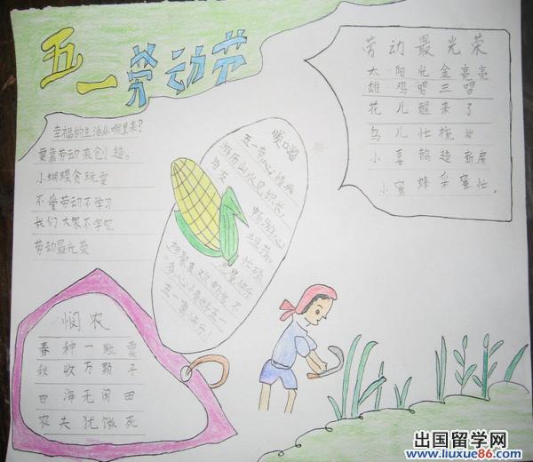 的一年级小学生手抄报怎么画