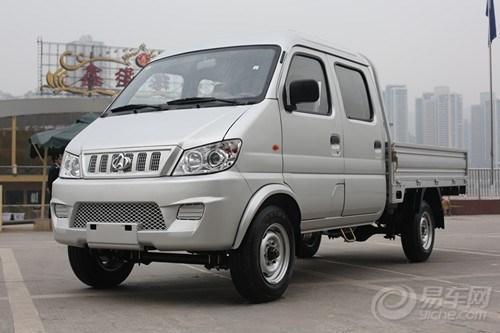新豹二代汽油双排2.55米466发动 长安新豹2 引领小卡发高清图片