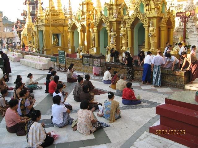 缅甸仰光新城地图