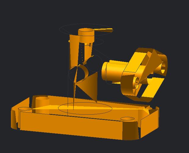 三维实体练习箱体图纸复杂图纸零件ug类图片