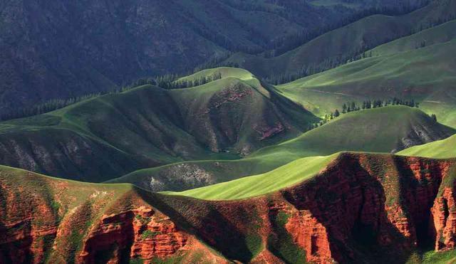 位置:青海省海北藏族自治州祁连县八宝镇