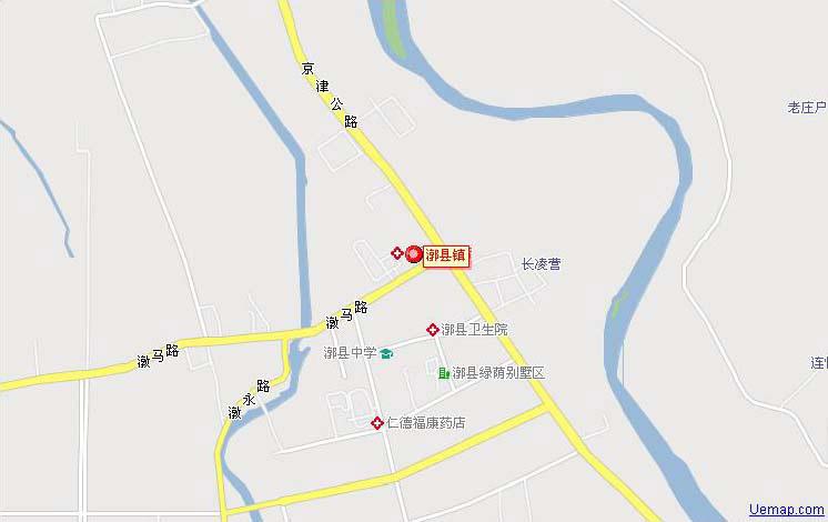 漷县镇电子地图