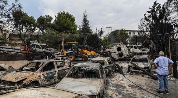 希腊森林火灾遇难人数升至74人