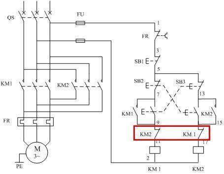 电路自锁互锁电路图