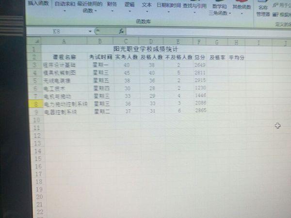 在电脑上怎样算及格率和平均分_360问答