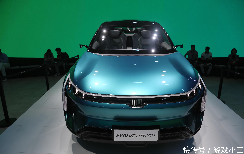 实拍威马EVOLVECONCEPT量产概念车,或将亮相深港澳车展!