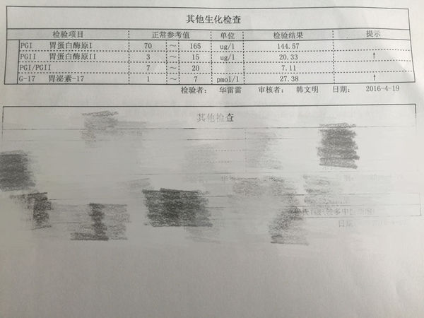 问:请问做了体检,这个胃泌素27.38,超出了最高
