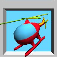 涂鸦直升机